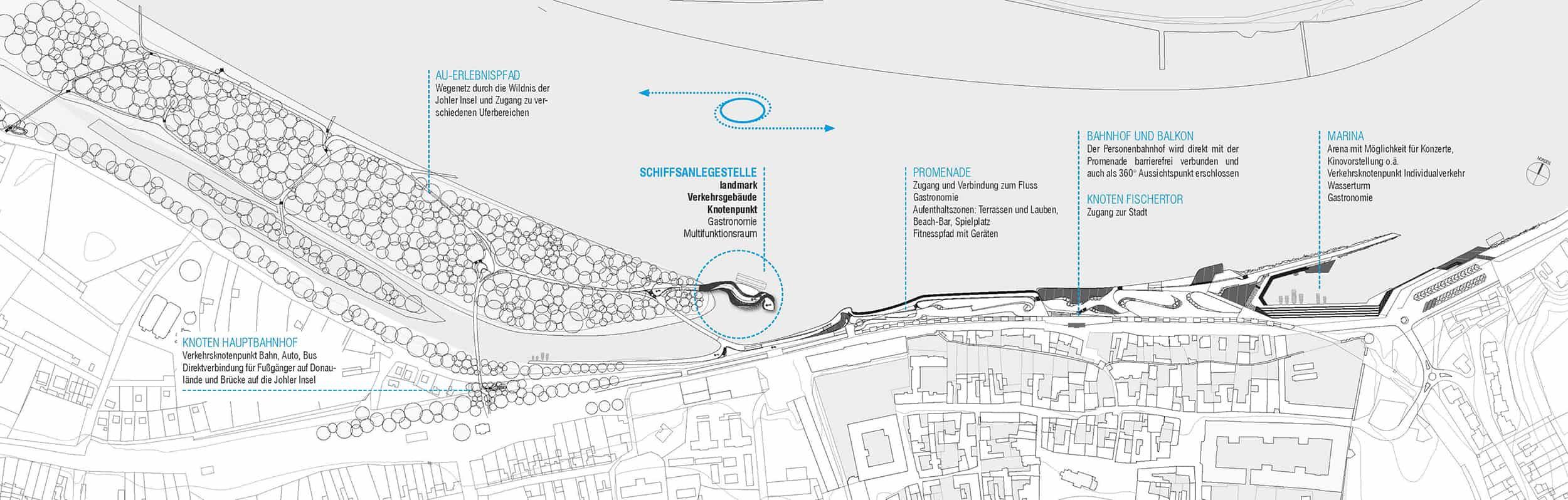 Übersicht Uferneugestaltung