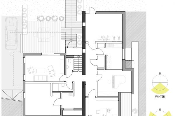 Gästezimmer, Partyraum, Home Office, Musikraum und Nebenräume