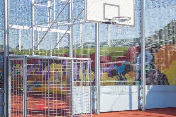 Side by Side Lösung für Basketball und Streetsoccer