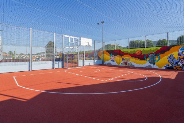 Basketball am Funcourt