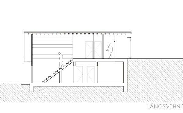 Schnitt Treppe